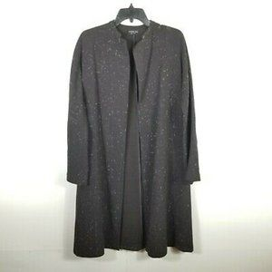 Yeohlee New York Open Front Wool Long Cardigan